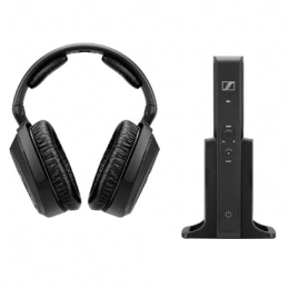Sennheiser RS 175 RF Wireless Headphones System (Black)_1