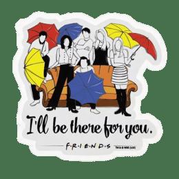 The Souled Store F.R.I.E.N.D.S I'll Be There for You Sticker (Multicolor)_1