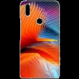 Cangaroo Colorful Abstract Polycarbonate Hard Back Case Cover for Vivo V9 (HD_VivoV9_Kri_022_ABTORG, Multicolor)_1