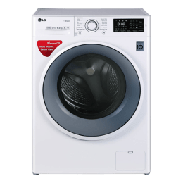 LG 6.5 kg Fully Automatic Front Loading Washing Machine (FHT1065SNW, Blue)_1