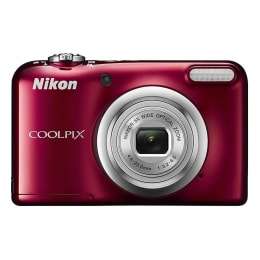 Nikon Coolpix 16.1 MP Point & Shoot Camera (A10, Red)_1