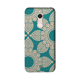 The Souled Store Mandala Pattern Polycarbonate Mobile Back Case Cover for Xiaomi Redmi Note 5 (84979, Green)_1