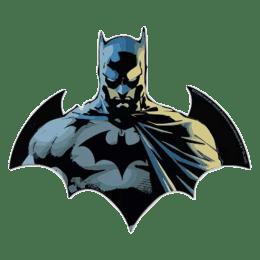 The Souled Store Batman Face Sticker (Black)_1