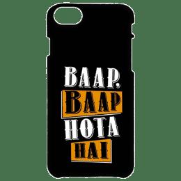 Cangaroo Baap Baap Hota Hai Polycarbonate Hard Back Case Cover for Apple iPhone 7/8 (HD_i7_Kri_003_BAAPBL, Black)_1
