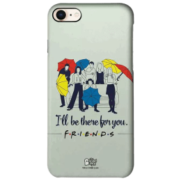 The Souled Store F.R.I.E.N.D.S- I'll Be There for You Polycarbonate Back Case Cover for Apple iPhone 8 (73231, Black)_1