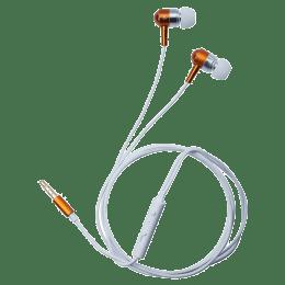 Toshiba In-Ear Wired Earphones with Mic (RZE-D100E, Orange)_1