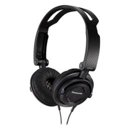 Panasonic RP-DJS150M-K Headphone (Black)_1