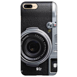 The Souled Store Real Camera Polycarbonate Mobile Back Case Cover for Apple iPhone 8 Plus (74160, Black)_1
