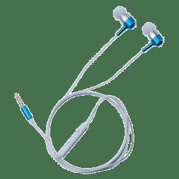 Toshiba In-Ear Wired Earphones with Mic (RZE-D100E, Blue)_1
