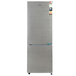 Haier 276 L 3 Star Frost Free Double Door Bottom Mount Refrigerator (HRB-2963BS-E, Silver)_1