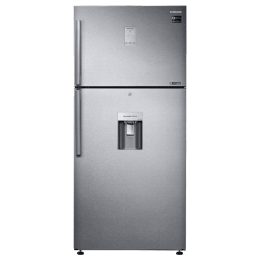 Samsung 523 Litres 2 Star Frost Free Double Door Inverter Refrigerator (5-in-1 Convertible, RT54K6558SL/TL, Real Stainless)_1