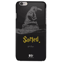The Souled Store Harry Potter - Sorting Hat Polycarbonate Mobile Back Case Cover for Apple iPhone 6S (30394, Black)_1