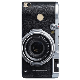 The Souled Store Real Camera Polycarbonate Mobile Back Case Cover for Xiaomi Mi Max 2 (68690, Black)_1