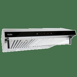 Glen 1000 m³/hr 60cm Wall Mount Chimney (Touch Sensor Control Panel, CH6001SS60TSBFLTW, Silver)_1
