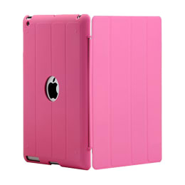 AirPlus AirCase Smart Hardback Protective Flip Cover for Apple iPad Air (AP-TC-407-PNK, Pink)_1