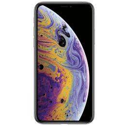Apple iPhone XS (Silver, 64 GB, 4 GB RAM)_1