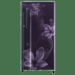 LG 188 L 3 Star Direct Cool Single Door Inverter Refrigerator (GL-B191KPOW, Purple Orchid)_1