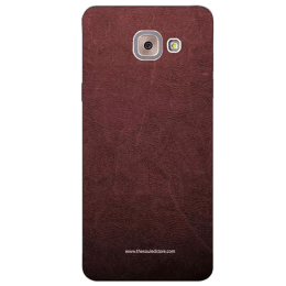 The Souled Store Vintage Leather Mobile Back Case Cover for Samsung Galaxy J7 Max (65067, Distressed Brown)_1