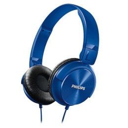 Philips SHL3060BL Headphones (Blue)_1