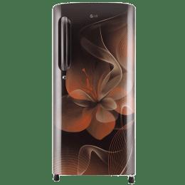 LG 190 L 4 Star Direct Cool Single Door Inverter Refrigerator (GL-B201AHDX, Hazel Dazzle)_1