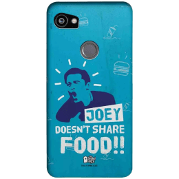The Souled Store F.R.I.E.N.D.S - Joey Polycarbonate Mobile Back Case Cover for Google Pixel 2 XL (80204, Blue)_1