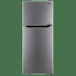 LG 260 L 2 Star Frost Free Double Door Inverter Refrigerator (GL-N292SDSR, Dazzle Steel)_1