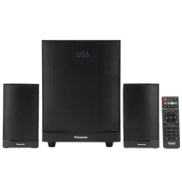 Panasonic 2.1 Channel Speaker (SC-HT22GW-K, Black)_1