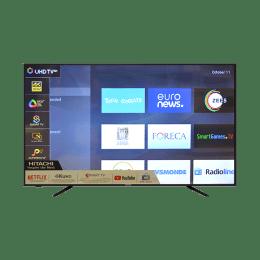 Hitachi 139.70 cm (55 inch) 4k Ultra HD LED Smart TV (Black, LD55SYS04U-CIW)_1
