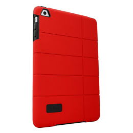 ZAGG iFrogz Cocoon Back Case for Apple iPad Mini (IPMCN-RED, Red/Black)_1
