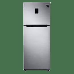 Samsung 394 L 3 Star Inverter Frost Free Double Door Inverter Refrigerator (RT39K5518S8/TL, Graphite, Convertible)_1