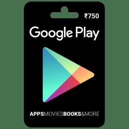 Google Play Gift Card - INR 750_1