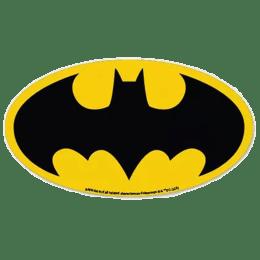 The Souled Store Batman Classic Logo Sticker (Black/Yellow)_1