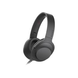 Sony MDR-100AAP h.ear on Headphones (Black)_1