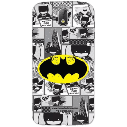 The Souled Store Batman - Comics Polycarbonate Mobile Back Case Cover for Samsung Galaxy J7 Pro (68804, Grey)_1