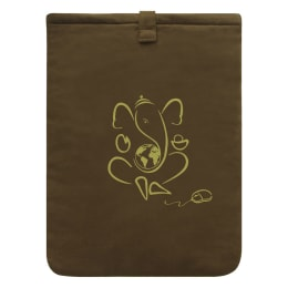Clean Planet 100% Natural Fibres Sleeve For 15 Inch Laptop (Bio-Degradable, CP_COVERS_LAPTOP_G, Brown)_1
