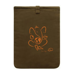 Clean Planet Sleeve for 15 Inch Laptop (Brown)_1