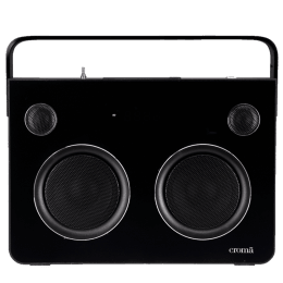 Croma ES1087 Portable Bluetooth Speaker (BTR-140, Black)_1