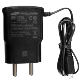 Samsung Wall Travel Adapter with Cable (EP-TA60IBEUGIN, Black)_1
