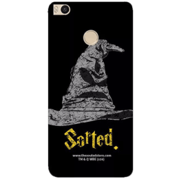 The Souled Store Harry Potter - Sorting Hat Polycarbonate Mobile Back Case Cover for Xiaomi Mi Max 2 (68620, Black)_1