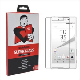 Scratchgard Tempered Glass Screen Protector for Sony Z5 (Transparent)_1
