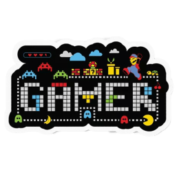 The Souled Store 90's Gamer Sticker (Multicolor)_1
