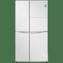 LG 675 L Side by Side Inverter Refrigerator (GC-C247UGLW, Linen White)_1