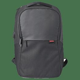 NeoPack Bolt Nylon Laptop Backpack (6BK15, Black)_1