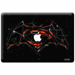 Macmerise Bat Super Trace Skin for 11 Inches Apple MacBook Air (MCS13ABS0002, Red)_1