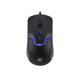 HP M100 1600 DPI Wired Gaming Mouse (Black)_1