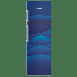 Liebherr 346 L 4 Star Frost Free Double Door Inverter Refrigerator (TCb 3540, Blue Landscape)_1