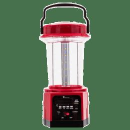 Syska Battery Powered/Solar Powered 7 Watt Emergency Lantern (SSK-RL-3036RM, Red)_1