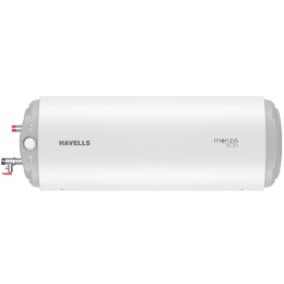 Havells Monza Slim 15 Litres Horizontal Storage Water Geyser (GHWBMDSWH015, White)_1