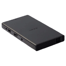 SONY compact Mobile Projector (MP-CD1//C ULA, Black)_1