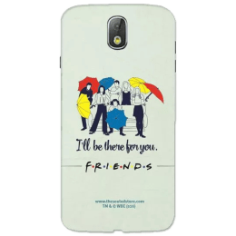 The Souled Store F.R.I.E.N.D.S - I'll Be There For You Polycarbonate Mobile Back Case Cover for Samsung Galaxy J7 Pro (68829, Black)_1